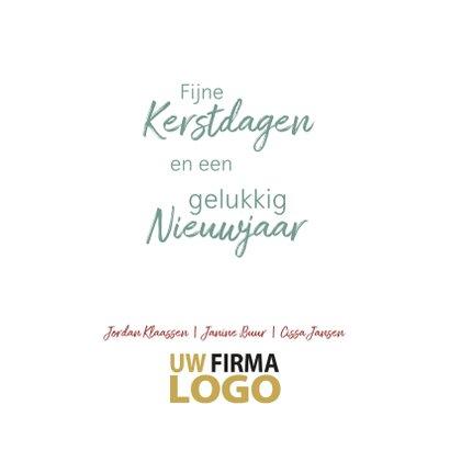 Kerstballen pastel label logo boog 3