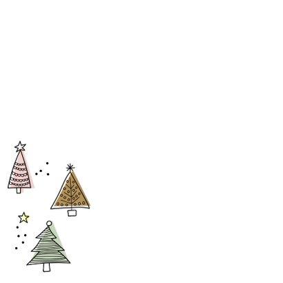 Kerstbomen doodle 2