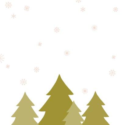 Kerstboom sneeuw 2