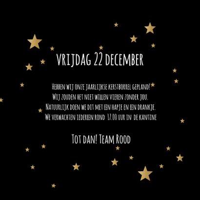 Kerstborrel zwart goudlook champagne 3