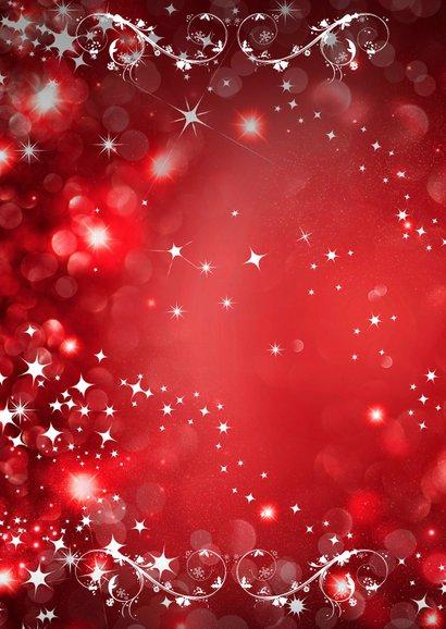 Kerstcollage rood 9 foto's 2