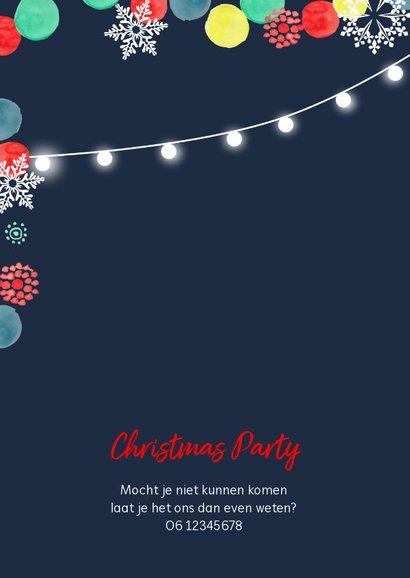 Uitnodiging Kerstdiner Kerstfeest  2
