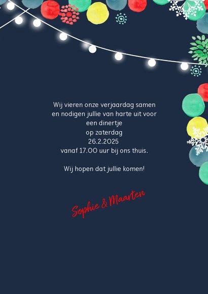 Uitnodiging Kerstdiner Kerstfeest  3