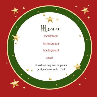 Kerstdiner - uitnodiging met engeltjes 3