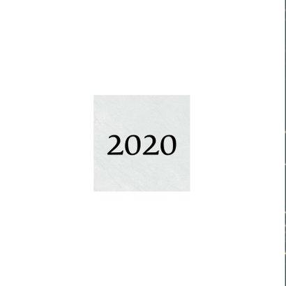 Kerstkaart 2020, goudkleurige sterretjes en leuke typografie 2