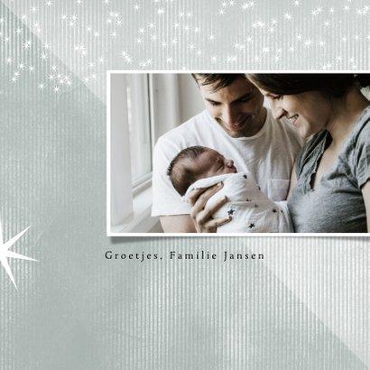 Kerstkaart 2020, Merry Christmas sterretjes 3