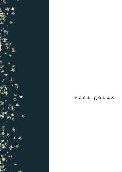 Kerstkaart 2020, met foto in modern ijzeren fotolijstje 2