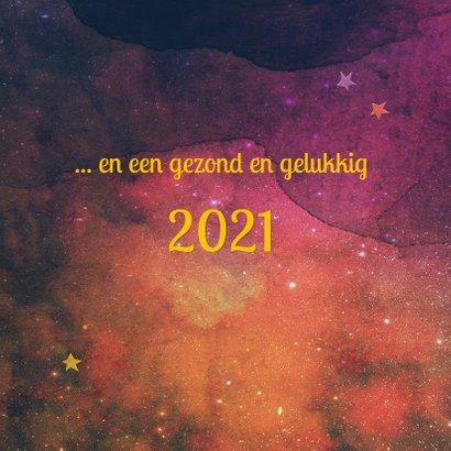 Kerstkaart 2021 - abstract  2