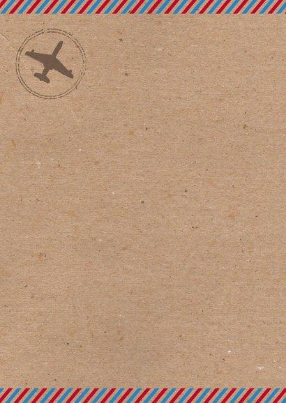 Kerstkaart airmail stempels foto's 2