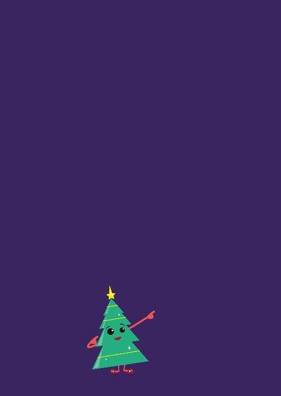Kerstkaart - Christmas tree fun 2