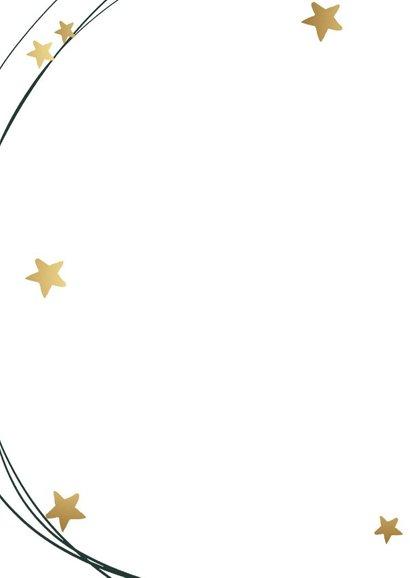 Kerstkaart cirkel ster 2
