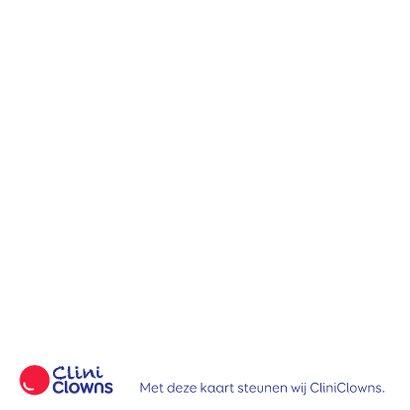 Kerstkaart CliniClowns kerst bal 2