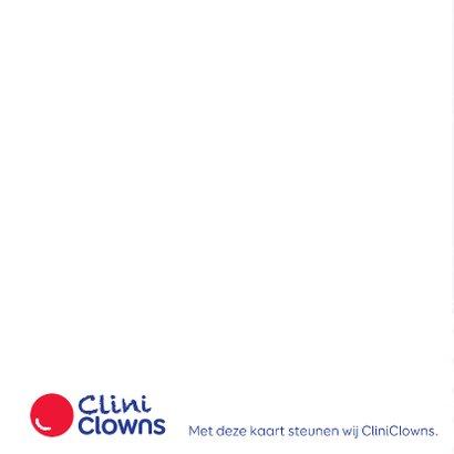 Kerstkaart CliniClowns rwb 1 2