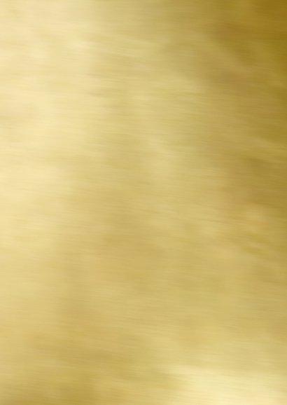 Kerstkaart collage foto goud Achterkant