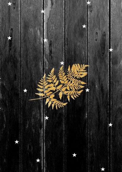 Kerstkaart collage hout 2