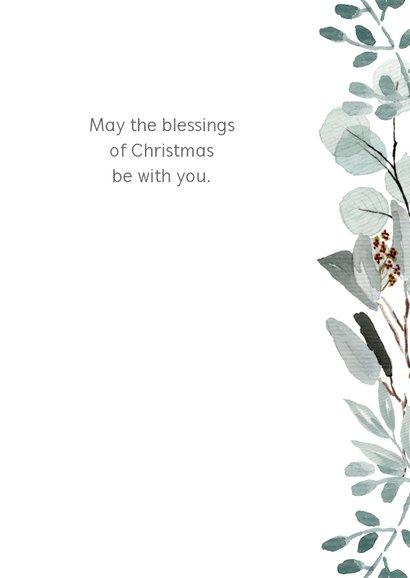Kerstkaart eucalyptus Opwekking 531 3