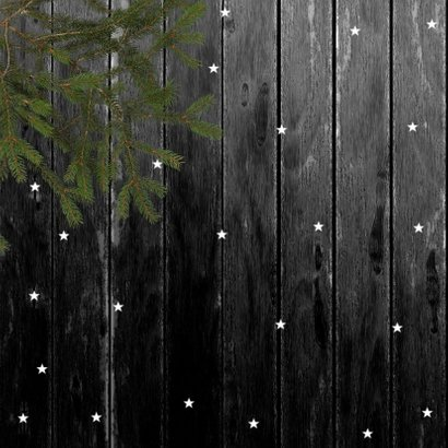 Kerstkaart foto op hout 2021 2