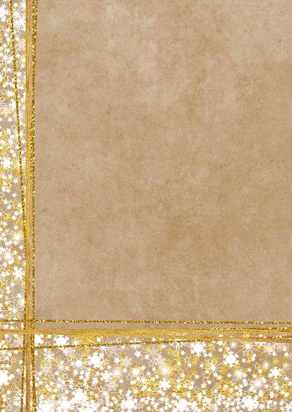 Kerstkaart foto romantisch  sfeervol sterren  2