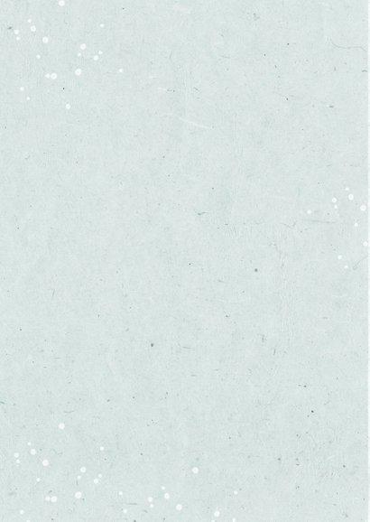 Kerstkaart fotocollage kerstboom goudlook confetti 2