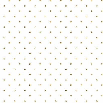 Kerstkaart goud glitter confetti 2