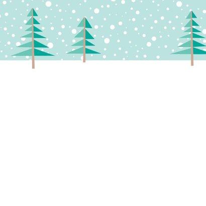Kerstkaart herten - HB 2
