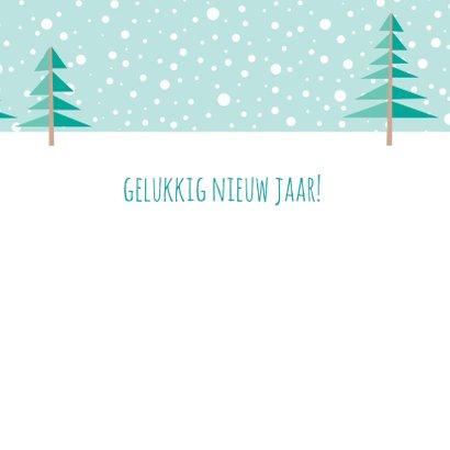 Kerstkaart herten - HB 3