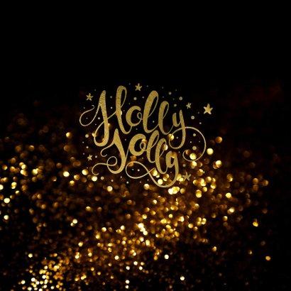 Kerstkaart  holy joly  - LO 2