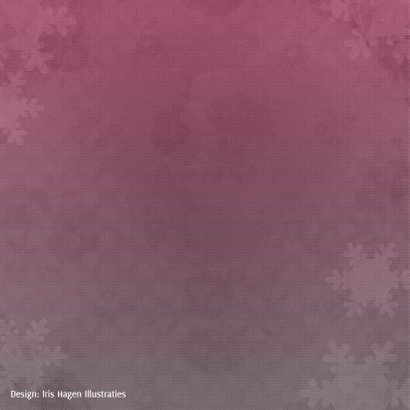 Kerstkaart ijsbeer en maan - IH 2