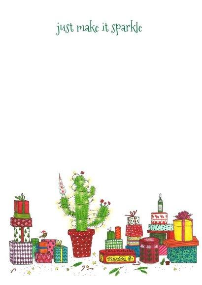 Kerstkaart improvised christmas 3
