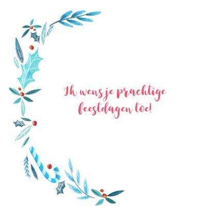 Kerstkaart jolly handlettering 2