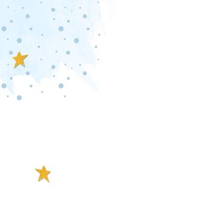 Kerstkaart Kerst vieren betekent voor elkaar klaarstaan Achterkant