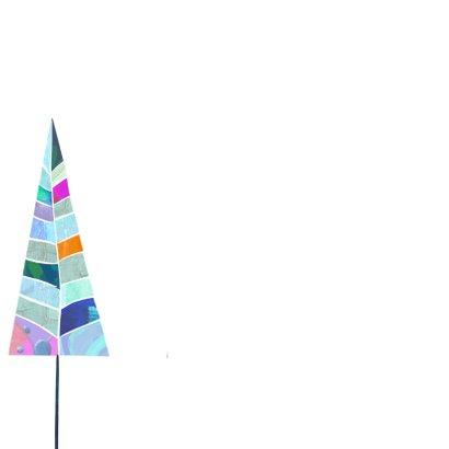 Kerstkaart kerstbomen patroon-IP 2