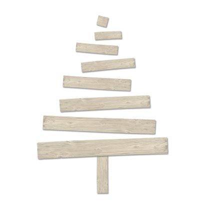Kerstkaart kerstboom hout2-HR 2