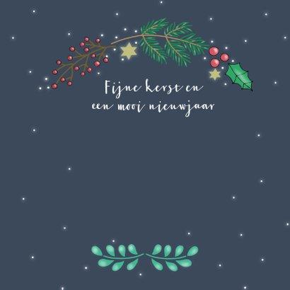 Kerstkaart Kerstkrans - SK 3