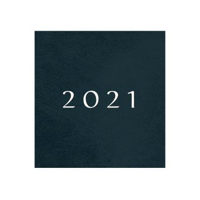 Kerstkaart klassiek 2020-2021 met foto en kader van sterren 2