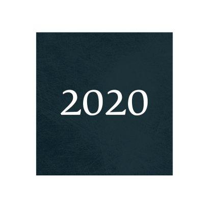 Kerstkaart klassiek 2020, met foto en kader van sterretjes 2