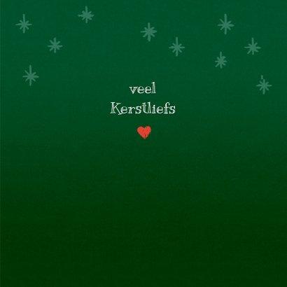 Kerstkaart liefs van Loeki en Guusje - A 3