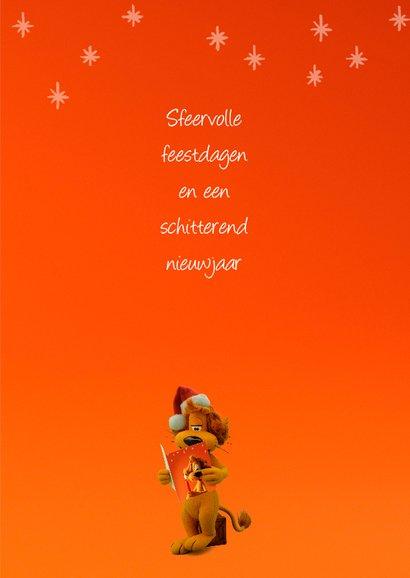 Kerstkaart Loeki sfeervol - A 3