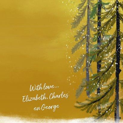Kerstkaart met elfjes 3