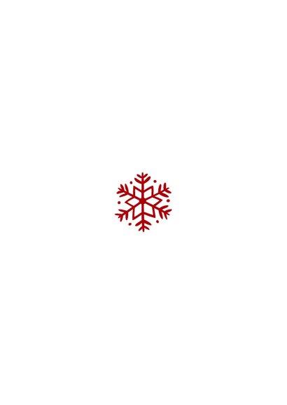 Kerstkaart met foto's en rode blaadjes Achterkant