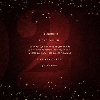 Kerstkaart met handgeschreven feestdagen grote 21  3