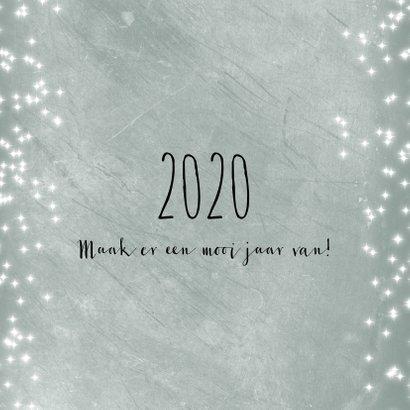 Kerstkaart met twee foto's 2020 2