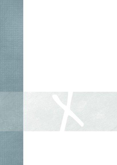 Kerstkaart modern, merry Xmas met leuke typografie 2