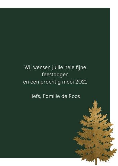 Kerstkaart | Oh denneboom, oh denneboom 3