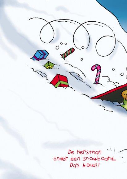 Kerstkaart Rocco Snowboard - RN 2