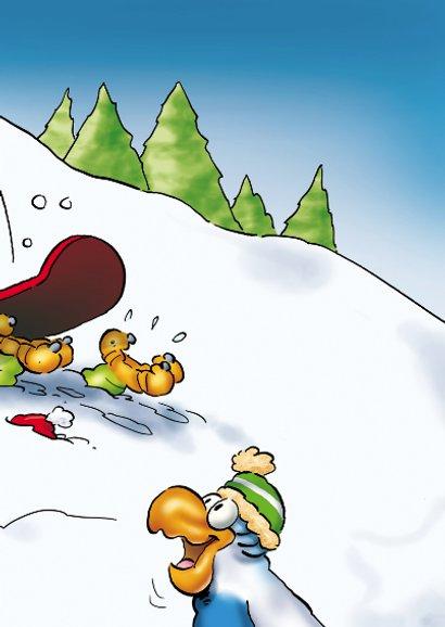 Kerstkaart Rocco Snowboard - RN 3