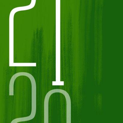 Kerstkaart Samen op weg naar een duurzaam en groen 2021 2