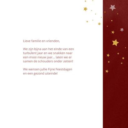 Kerstkaart Samen werken aan een mooi 2022 3