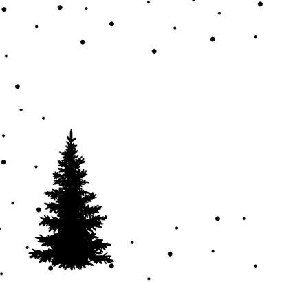 Kerstkaart | Stipjes en goud 2