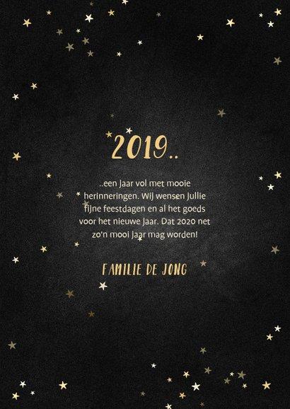 Kerstkaart terugblik op 2019 fotocollage polaroid 3